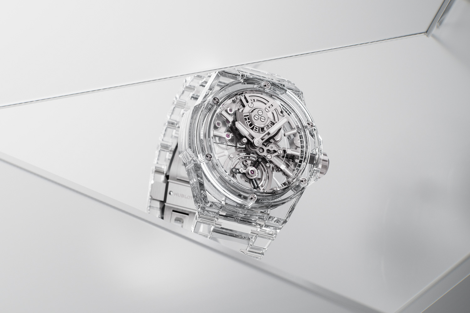 Big Bang Integral Tourbillon Full Sapphire:  A FEAT OF PURE SAPPHIRE