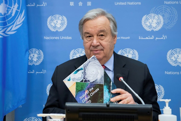 UN Secretary-General António Guterres says the world is