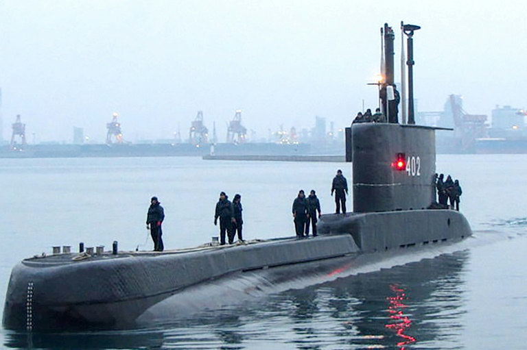 Indonesia navy searching for submarine with 53 aboard