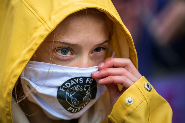 Greta Thunberg blasts politicians for 'ignoring' climate crisis