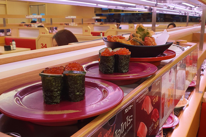 Sushi expressway