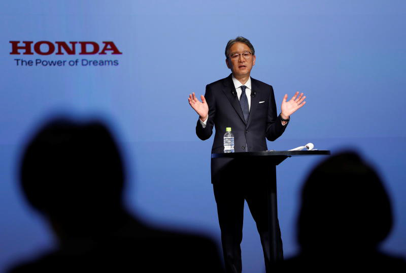 Honda aims for 100% electric vehicles by 2040