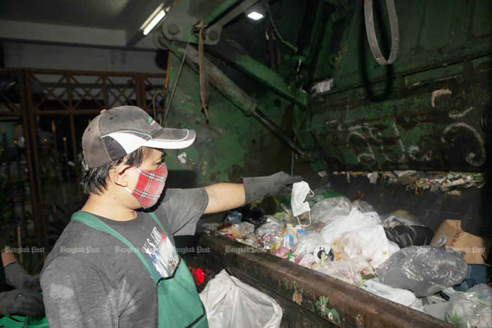 Fears over mask disposal