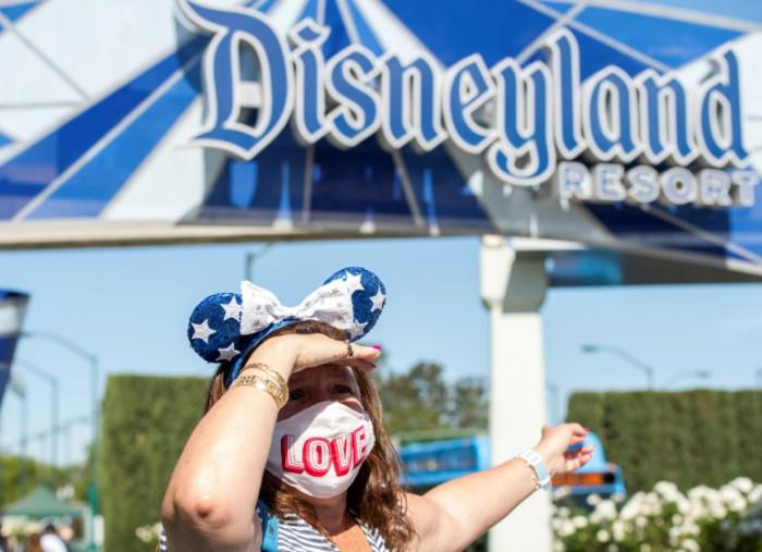 Disneyland fans hail 'greatest feeling ever' as theme park finally reopens