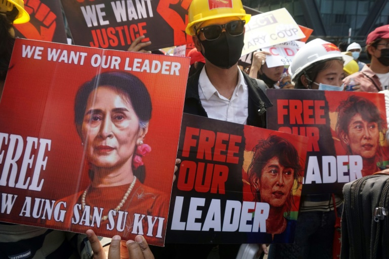 Myanmar has been plunged into violence since the military deposed Aung San Suu Kyi in coup.
