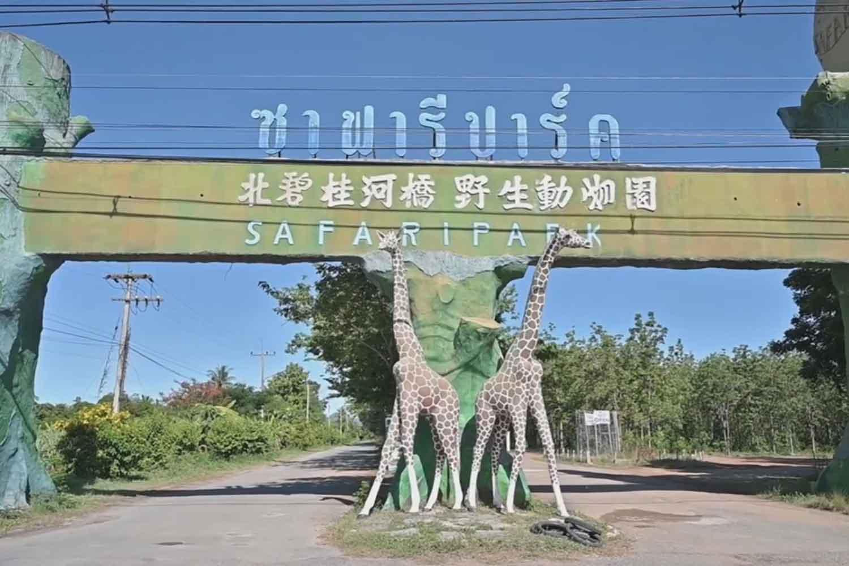 Safari Park and Open Zoo in Bo Phloi district, Kanchanaburi province. (Photo: Piyarat Chongcharoen)