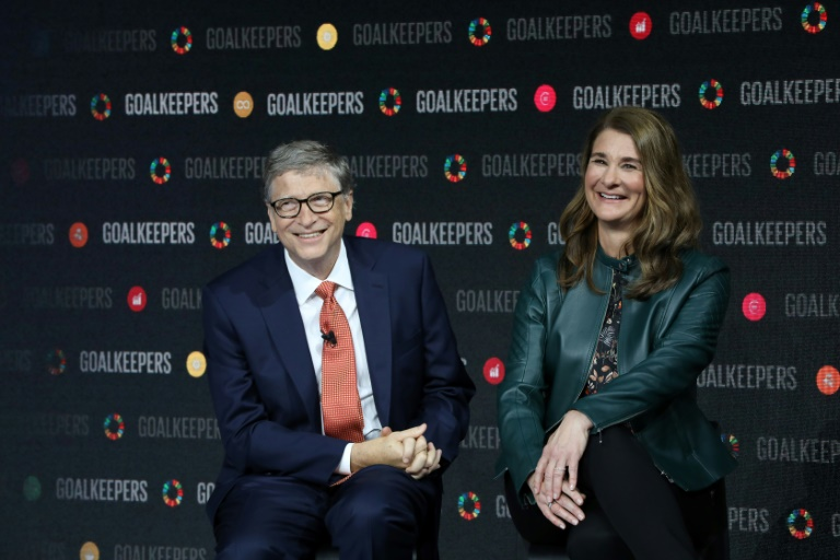 Bill and Melinda Gates, pictured here in 2018, said they intend to keep working together on their charitable foundation.