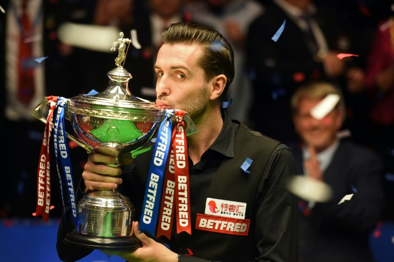England's Mark Selby is a three-time snooker world champion