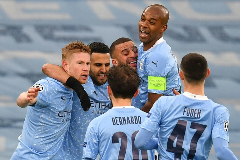 Blue moon rising: Manchester City have reached the Champions League final for the first time in their history.
