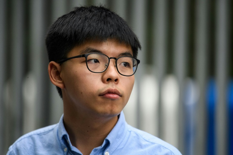 Hong Kong's Joshua Wong gets extra jail time for Tiananmen vigil