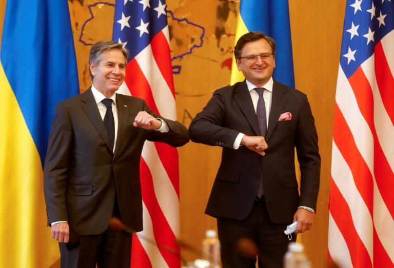 US Secretary of State Antony Blinken met Ukraine's leadership on a solidarity trip to Kiev