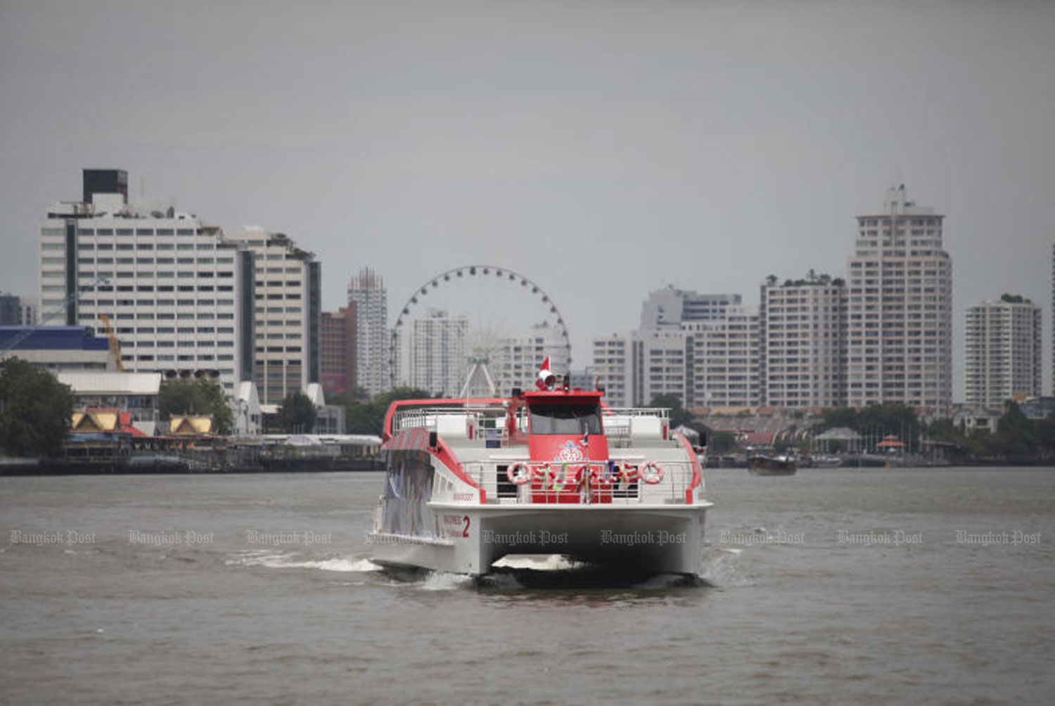 No Chao Phraya express boats weekends, holidays
