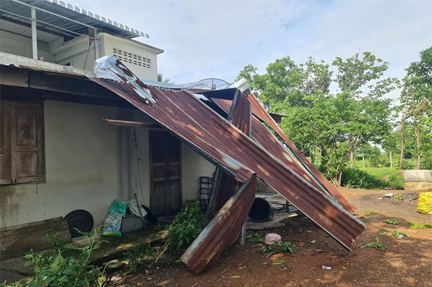 Villages ravaged by summer storm