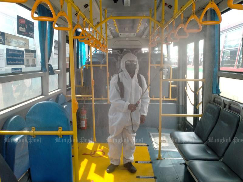 BMTA enforcing social distancing on buses