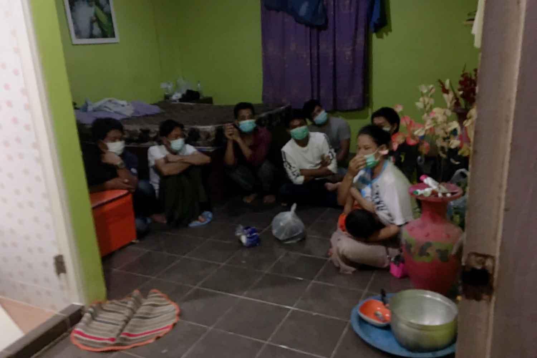9 Myanmar migrants caught in Surat Thani