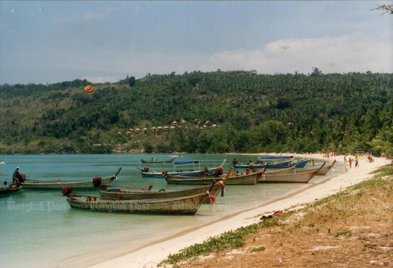 A general view of Koh Phi Phi in Krabi. (Bangkok Post file photo)