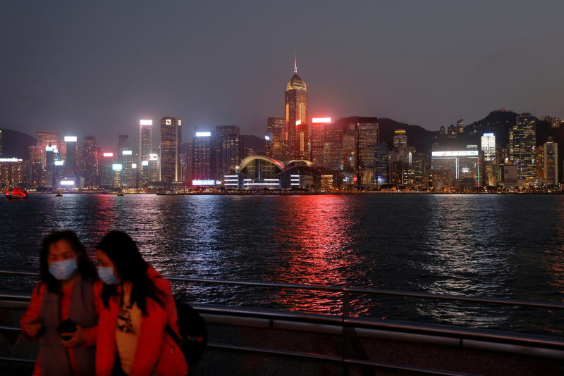 A general view of the central financial district in Hong Kong. (Reuters photo)