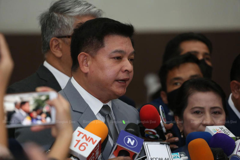 Palang Pracharat MP for Bangkok, Sira Jenjaka.(File photo)