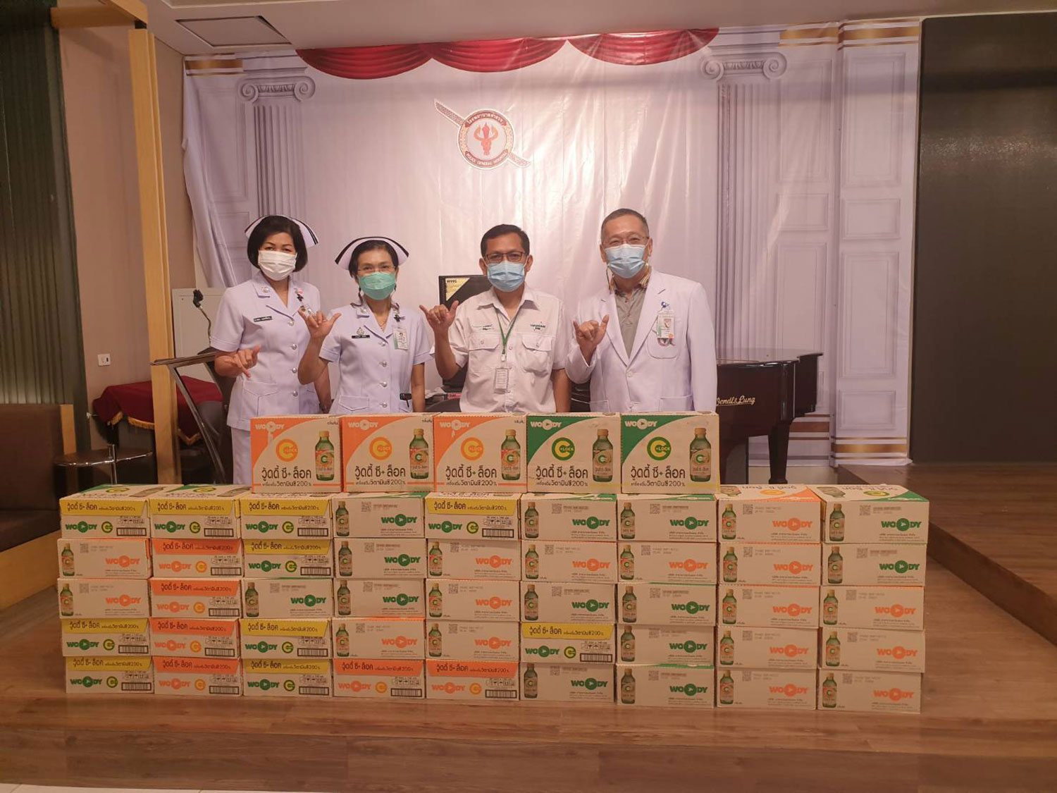 Carabao Group supports the fight against COVID-19 in Thailand with donation for medical and frontline personnel