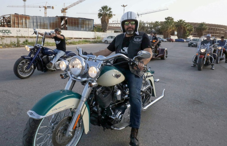 Benghazi bikers rev up to show another side of Libya
