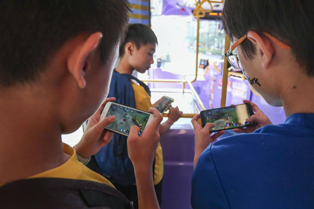 A new survey has found children are spending more time gaming during the pandemic. (South China Morning Post photo)