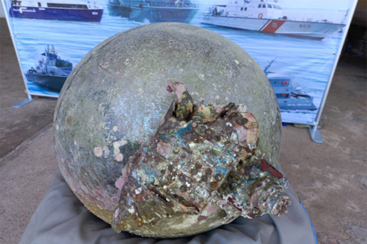 Space junk found in sea off Phuket