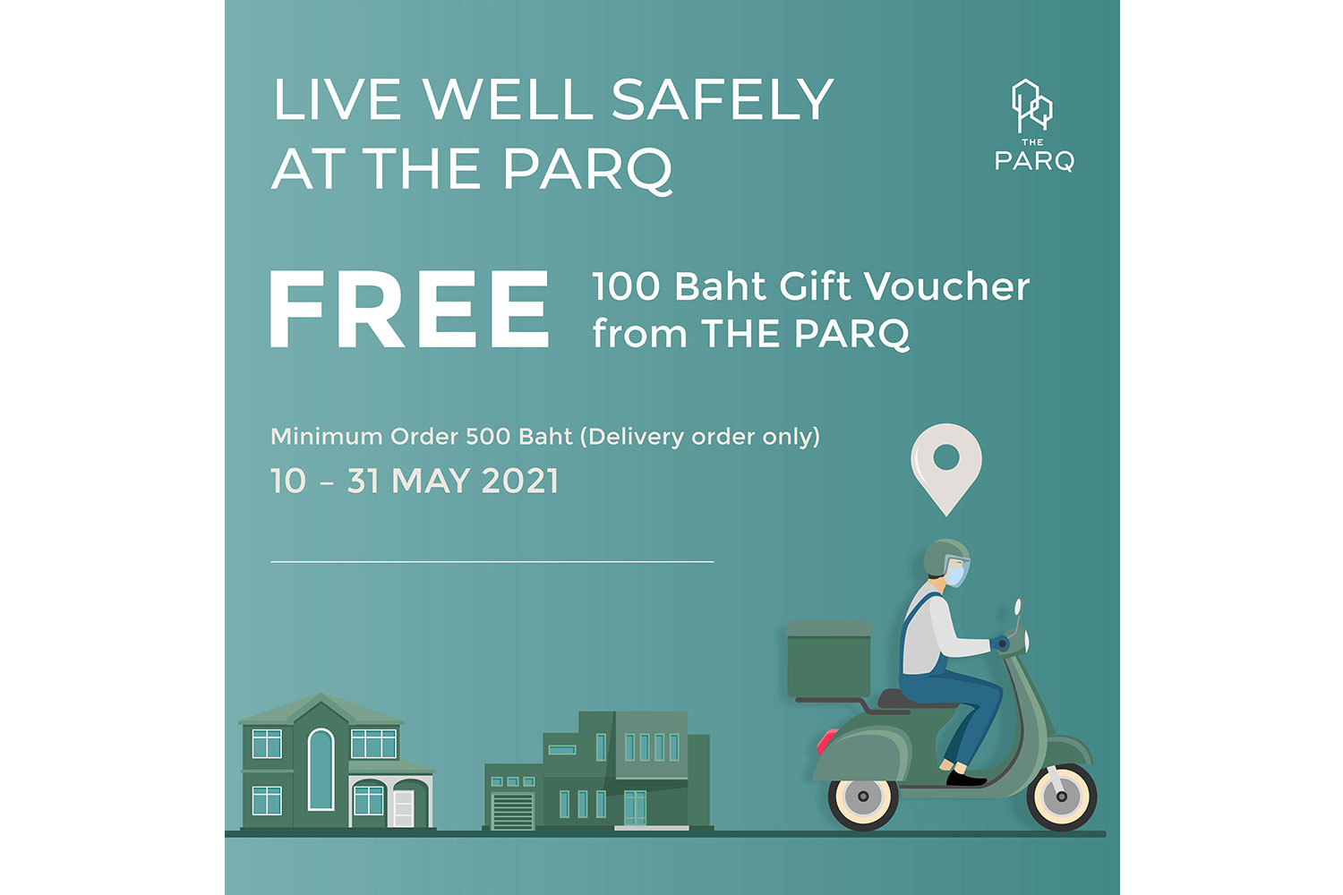 The PARQ Life launches F&B delivery promotions
