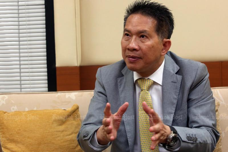 JSCCIB chairman Supant Mongkolsuthree