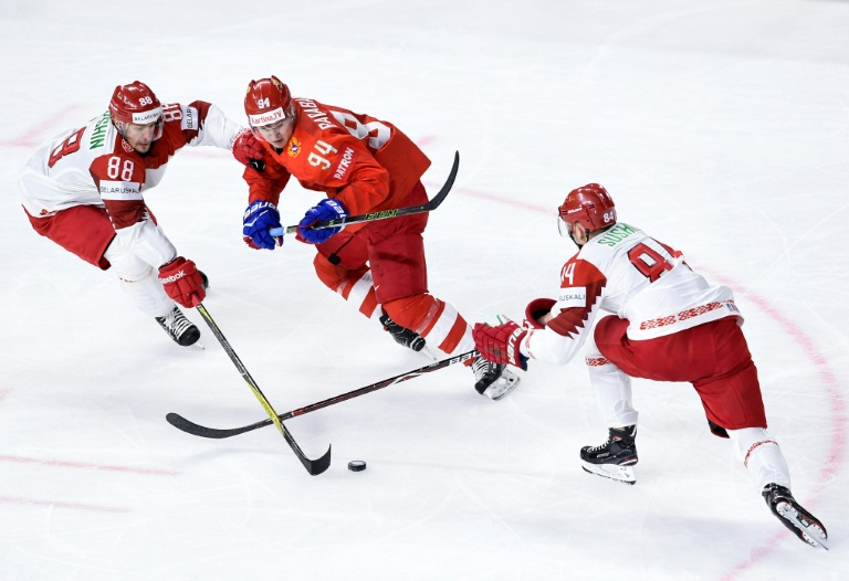 Victory' for Belarus opposition behind ice hockey champs