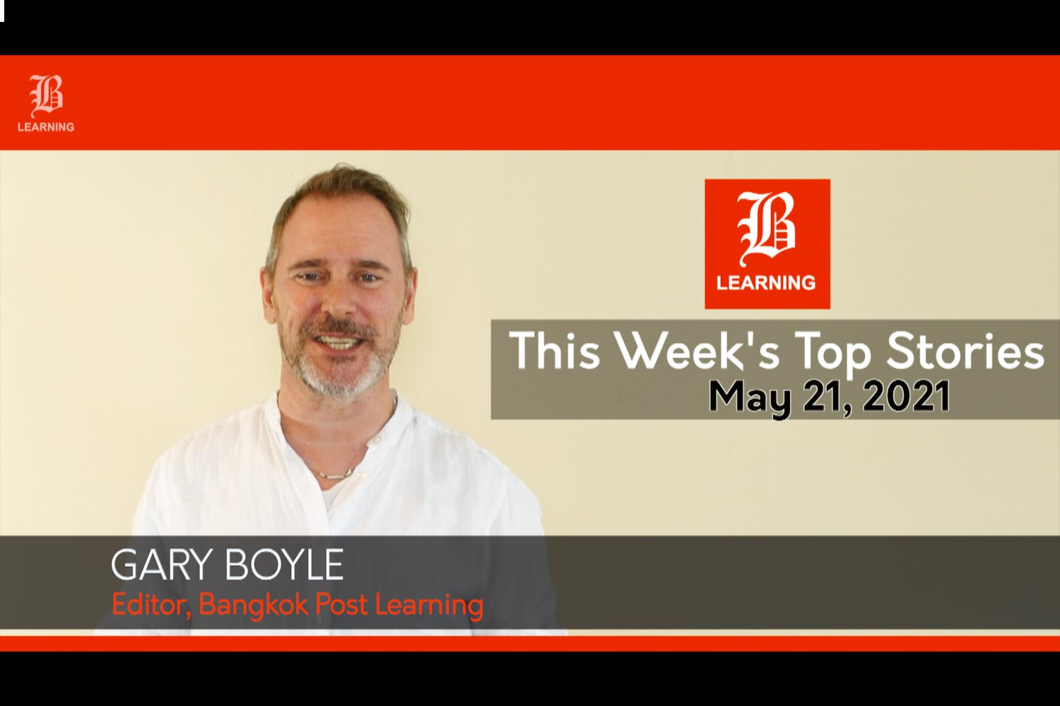 This week's top stories: May 21, 2021