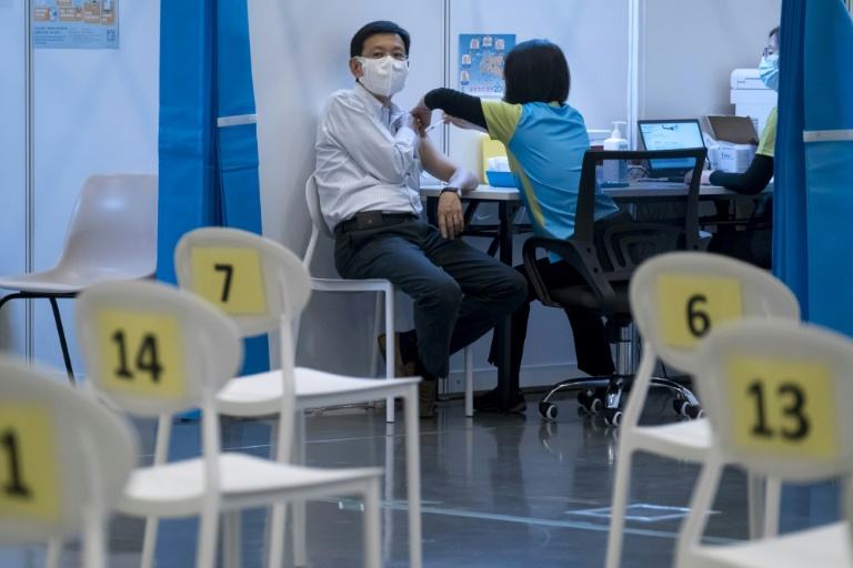 Less than 20% of people in Hong Kong have so far chosen to have the coronavirus vaccine, despite plentiful supplies.