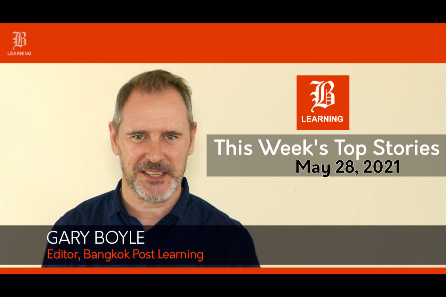 This week's top stories: May 28, 2021