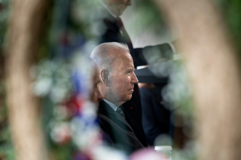 Biden says will demand end to `abuse of human rights` from Putin
