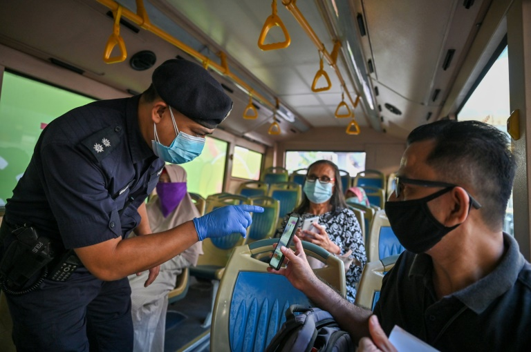 Malaysia has imposed a strict lockdown to battle a worsening coronavirus outbreak.
