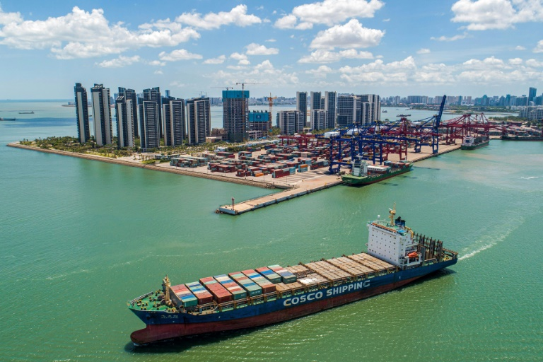 Demand for China's goods has bounced after economically painful lockdowns last year due to the Covid-19 crisis, and as vaccines are rolled out across much of the world.