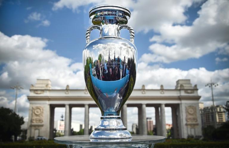 The European Championship trophy.