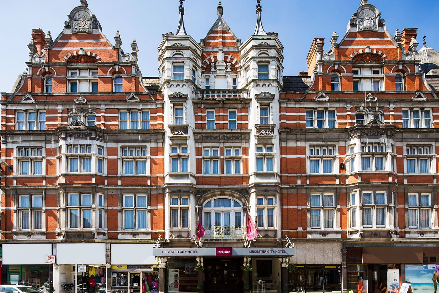 The Mercure Leicester Grand Hotel in Leicester. The UK government recently eased lockdown rules on May 17, allowing more travel with varied quarantine measures for visitors from different countries.