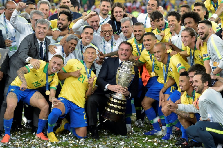 In 2019, Brazil won the Copa America on home soil in a carnaval atmosphere - but the 2021 edition promises to be more sombre.