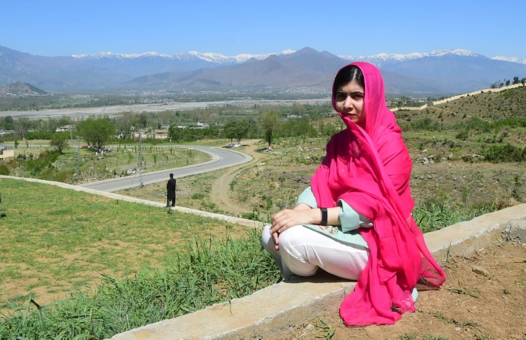 Since surviving an assassination attempt by the Taliban at 15 in rural northwest Pakistan, Malala Yousafzai has become a global figure promoting education for girls. (AFP Photo)