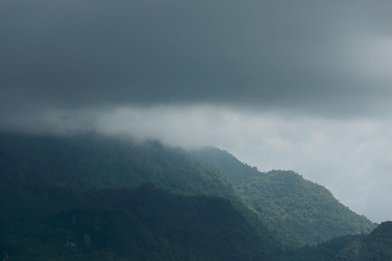 Intense showers as 'Koguma' nears
