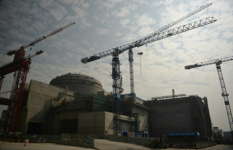 'Performance issue' at nuclear plant in China