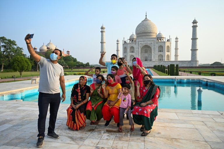 Taj Mahal reopens as India eases pandemic restrictions