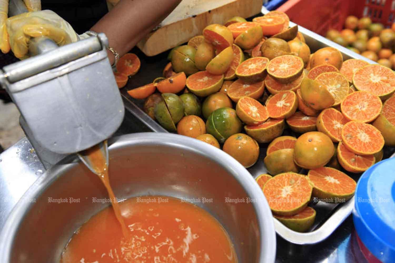 Officials probed over B12,000 orange juice 'fine'