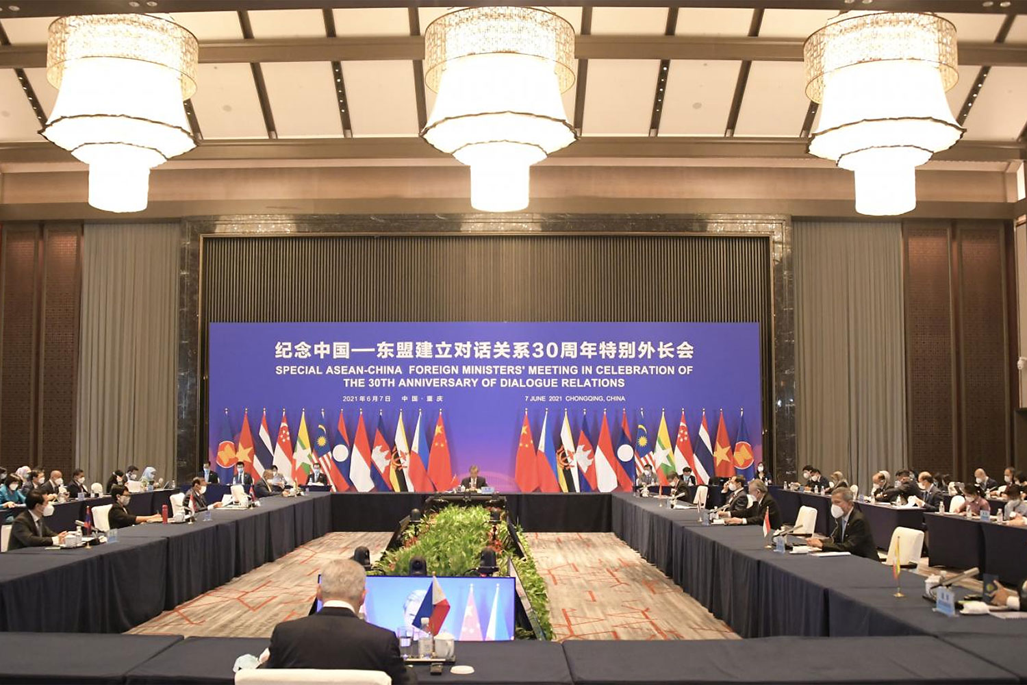 China's way with a divided, inert Asean