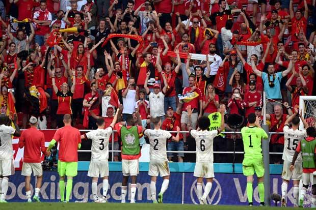 De Bruyne inspires Belgium comeback win amid Eriksen tributes