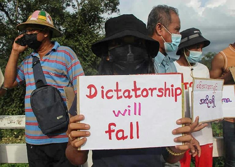 Pressure on Myanmar