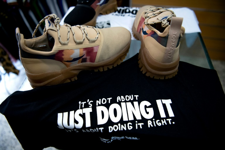 The Barcelona Street Vendors Union has just launched its own brand of trainers