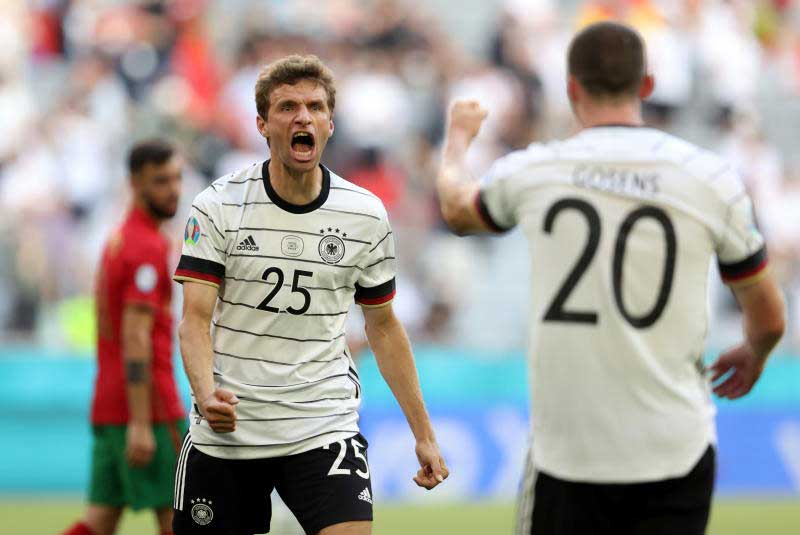 Germany complete incredible comeback to beat Portugal 4-2