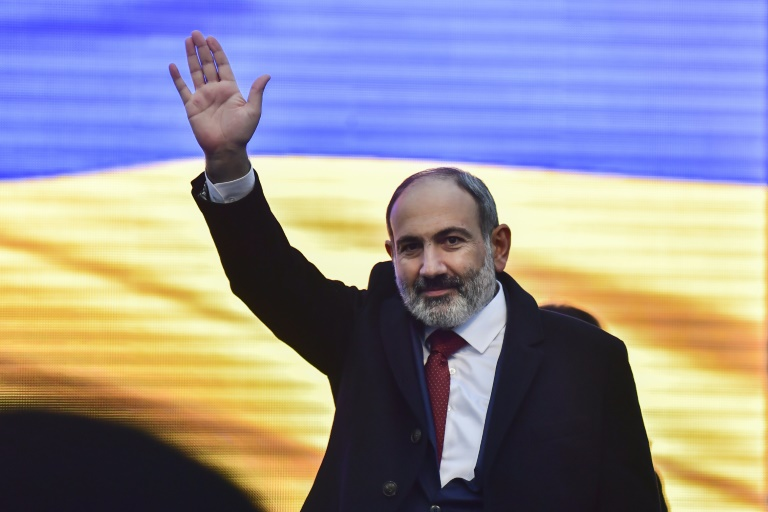 Post-war Armenia holds snap parliamentary elections