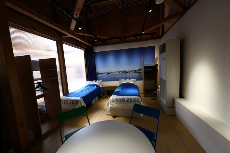 Fever clinic and Covid kits: Tokyo 2020 shows off Olympic Village